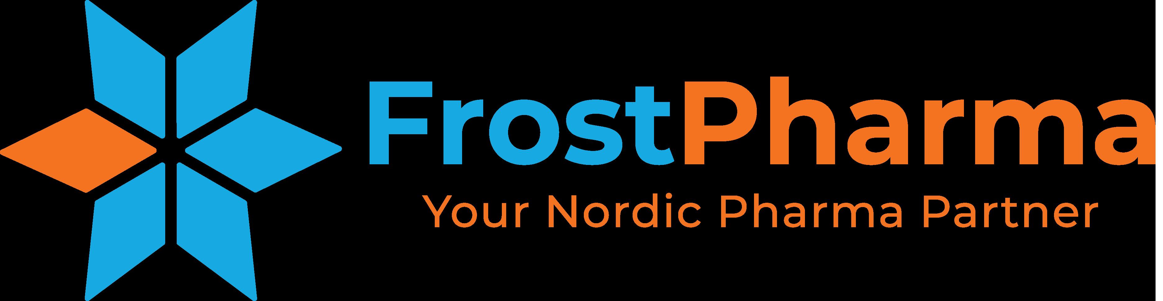 FrostPharma komplett logotyp